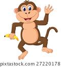 monkey, vector, comic 27220178