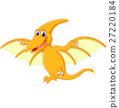 illustration of Happy pterodactyl cartoon 27220184