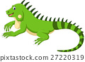 Cute iguana cartoon 27220319