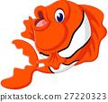 illustration of cute fish cartoon 27220323
