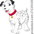 Cartoon dalmatian dog of illustration 27220330