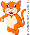 cute cat cartoon 27220331