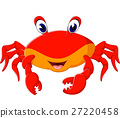 illustration of cute crab cartoon 27220458