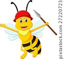 illustration of Cute bee cartoon 27220723