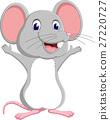 illustration of Cute mouse cartoon 27220727