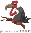 illustration of Vulture cartoon 27220942