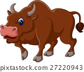 illustration of Strong bull cartoon 27220943