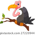 illustration of Vulture cartoon 27220944