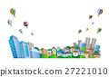 城市風光 城市景觀 市容 27221010