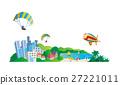 城市風光 城市景觀 市容 27221011