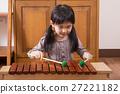 女孩 木琴 小姑娘 27221182