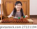 女孩 木琴 小姑娘 27221194