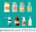 vector, bottle, pill 27222242
