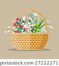 flowers in a basket 27222271