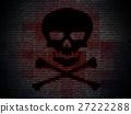 Malware, hacking, or computer virus background 27222288