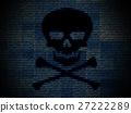 Malware, hacking, or computer virus background 27222289