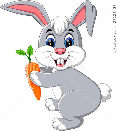 illustration of cute rabbit cartoon 27222437