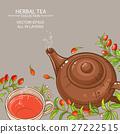 goji tea vector background 27222515