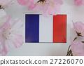 ต้นซากุระฤดูใบไม้ผลิธงชาติ 27226070