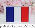 ต้นซากุระฤดูใบไม้ผลิธงชาติ 27226077