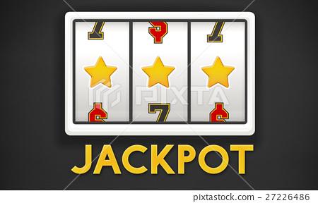 Online Casino Luck Concept 27226486