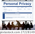 Personal Privacy Information Data Application Form Concept 27228149