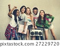 Teenagers Lifestyle Casual Culture Youth Style Concept 27229720
