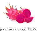 dragon fruit isolated on white background 27239127