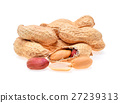 peanuts isolated on white background 27239313