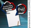 Parlez-vous Francais - Speech Bubbles 27239462