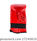 Studio photography red leather boxing gloves 27240810