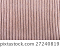 Real grey knitted fabric made of heathered yarn 27240819