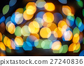 Defocused bokeh lights effect in night 27240836