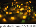 Defocused bokeh lights effect in night 27240838