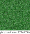 Seamless green knitting pattern. Woolen cloth 27241749