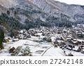 ชิระคาวะโกะ,ฉากหิมะ,ฤดูหนาว 27242148