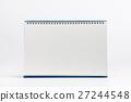 Front desk calendar isolate 27244548