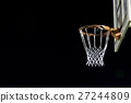 Abstract goalpost of Basketball 27244809
