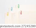 Color clip on paper 27245280