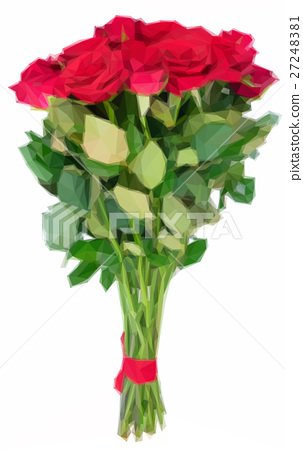 Red blooming roses 27248381