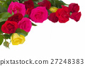 bouquet of multicolored roses 27248383