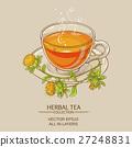 cup of safflower tea 27248831