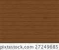 Wooden plank texture - Vector Illustration 27249685