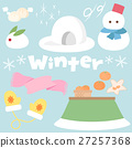 winter, set, sets 27257368