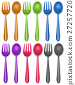 Six pairs of fork and spoon 27257720