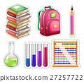 Set of educational equipments 27257722