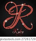 Ruby on black denim 27261720