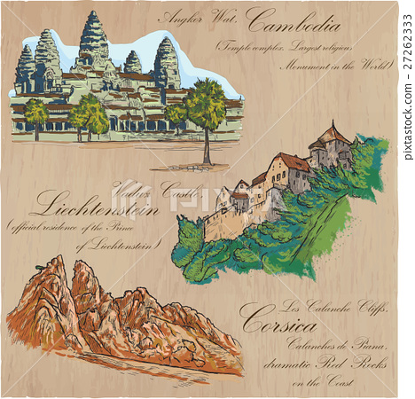 architecture - an hand drawn vector pack 27262333