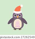 Cartoon owl vector 27262549