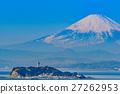 enoshima, mountain fuji, mt fuji 27262953